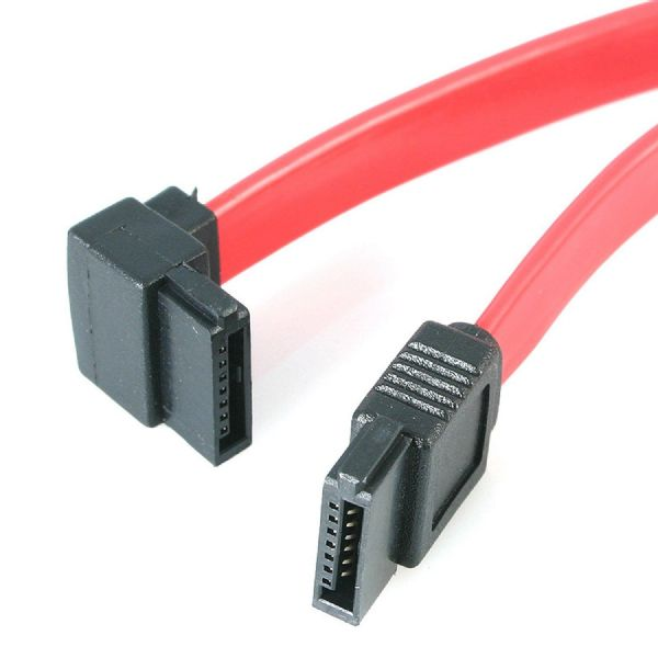 SATA to SATA Right Angled Data Cable 0.2M